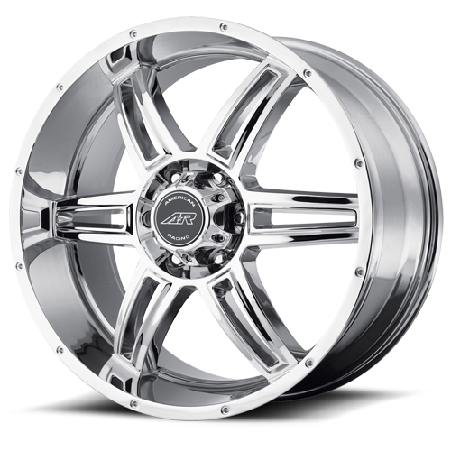 Литой American Racing AR890 R22/9.5 PCD5*127 ET35 DIA78.1 Chrome