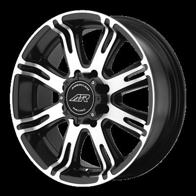 Литой American Racing AR708 R18/9 PCD5*139,7 ET20 DIA108 Black/Machined
