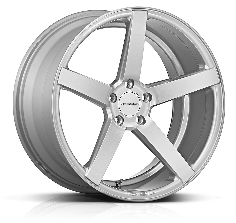 Литой Vossen CV3-R R22/10.5 PCD5*112 ET30 DIA66.56 Silver