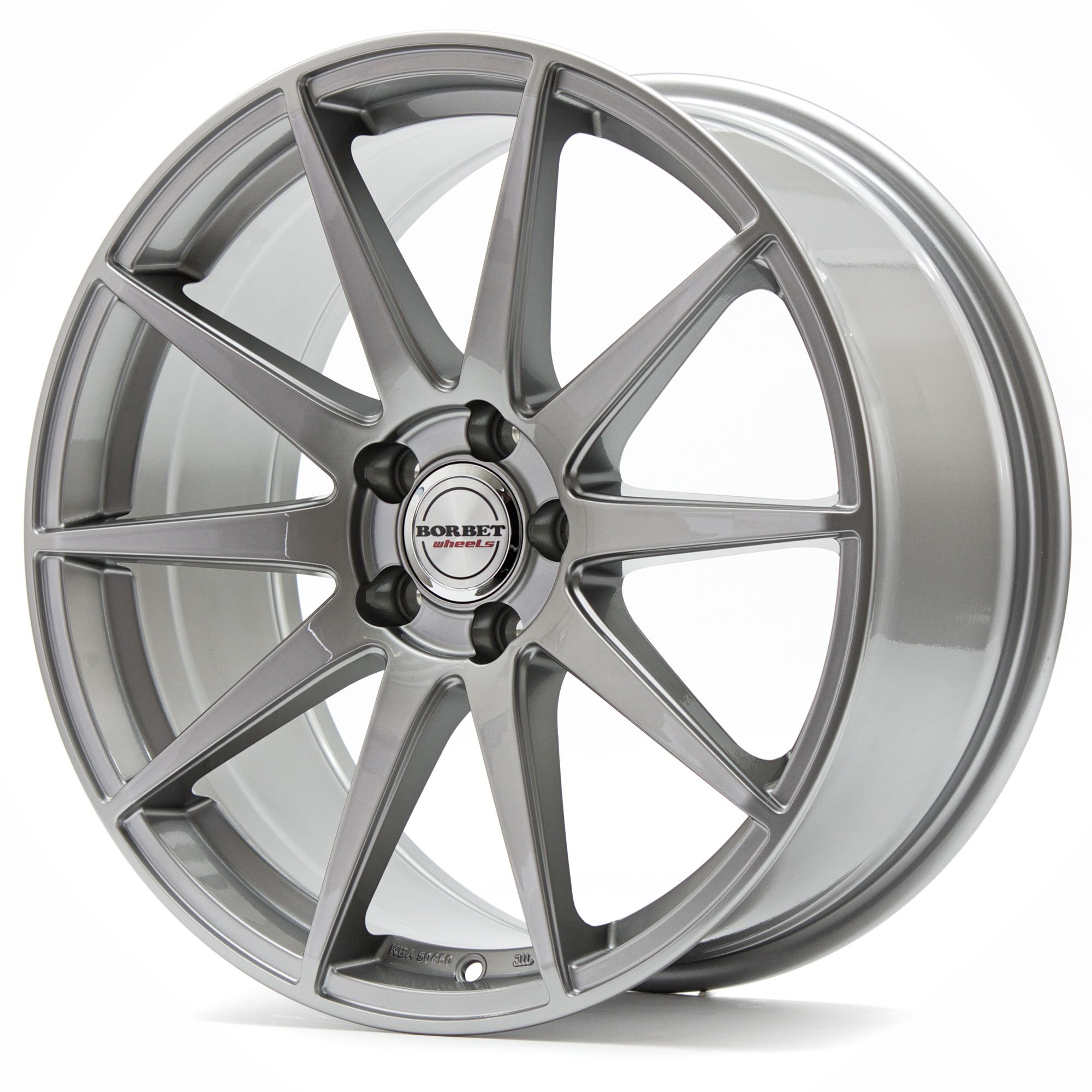 Литой Borbet GTX R20/8.5 PCD5*112 ET21 DIA66.5 Mistral Anthracite Glossy