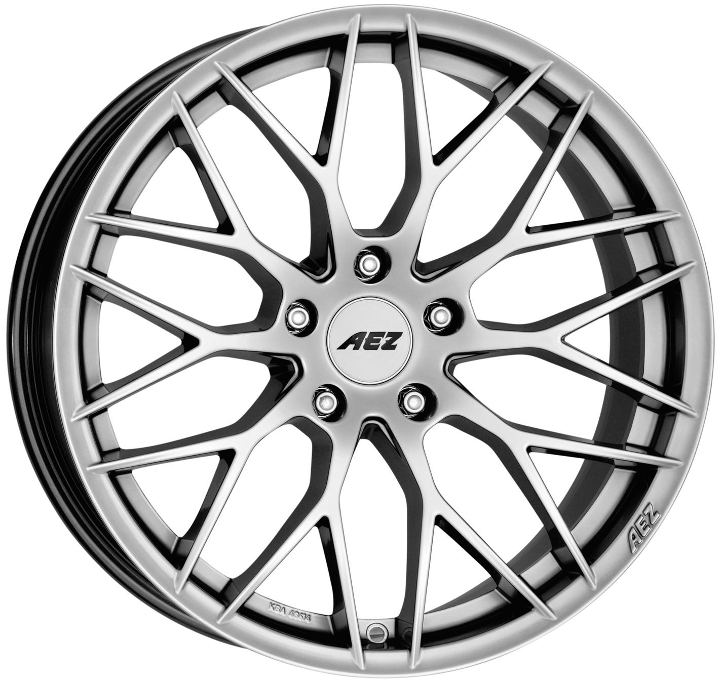 Литой AEZ Antigua R19/9.5 PCD5*120 ET23 DIA72.6 Silver