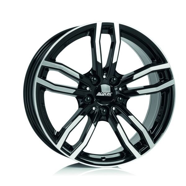 Литой Alutec Drive R18/8 PCD5*120 ET43 DIA72.6 Diamond Black Front Polished