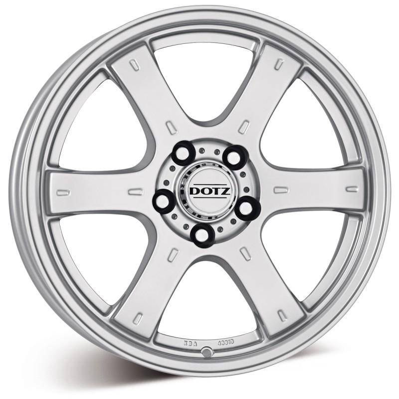 Литой Dotz Crunch Si R18/8 PCD6*139,7 ET20 DIA106.1 Silver
