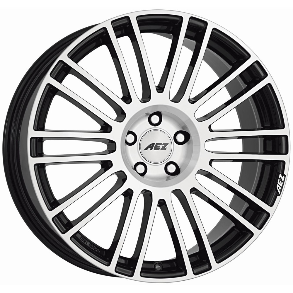 Литой AEZ Strike R20/9 PCD5*112 ET35 DIA70.1 Black front polished