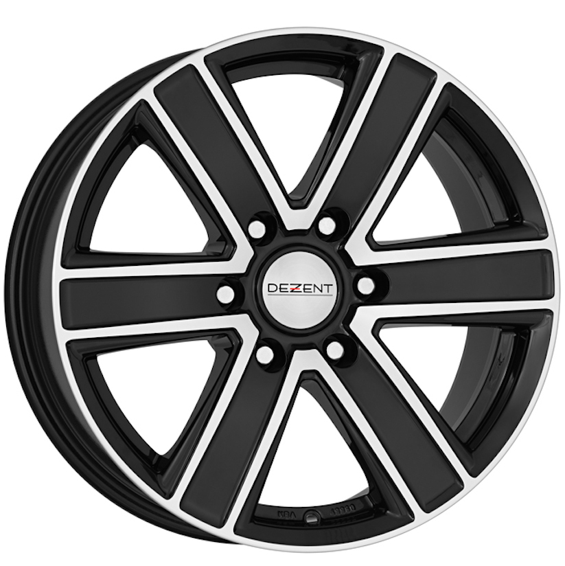 Литой Dezent Tj Dark R16/8 PCD6*139,7 ET35 DIA67.1 Black front polished