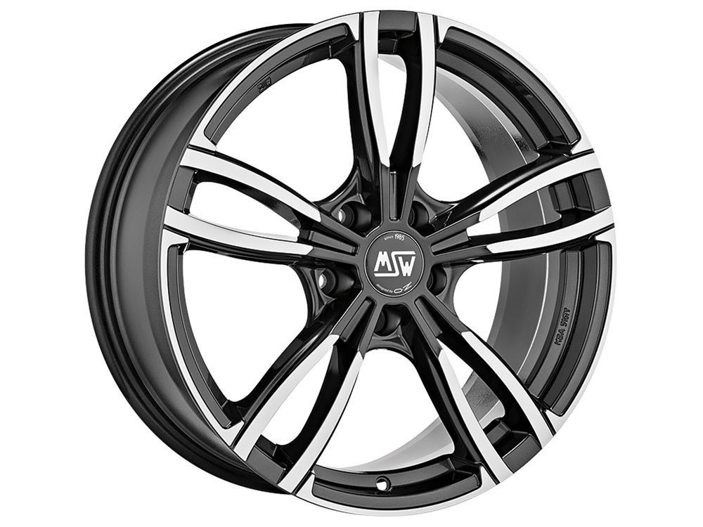 Литой MSW MSW 73 R19/9 PCD5*112 ET44 DIA73.1 Gloss Dark Grey Full Polished