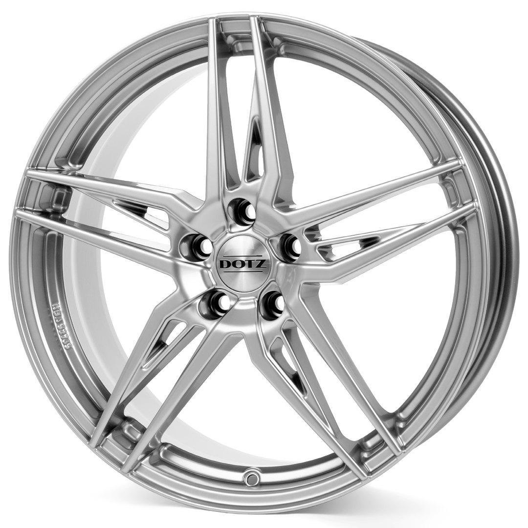 литой Dotz Interlagos Shine R17/7.5 PCD5*105 ET44 DIA56.6 Silver