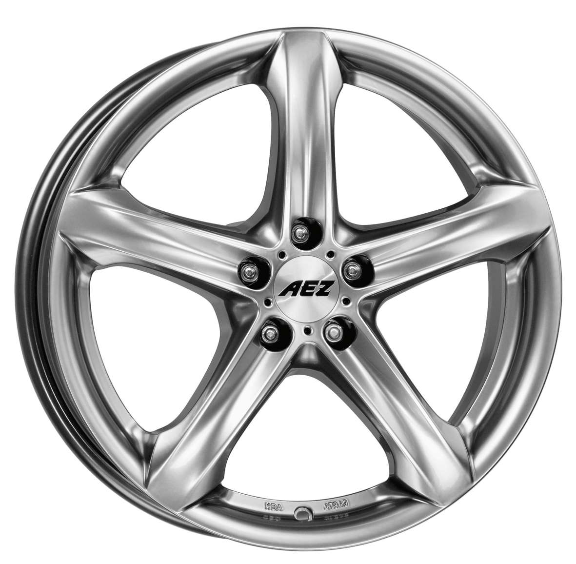 Литой AEZ Yacht SUV R20/9 PCD5*112 ET50 DIA70.1 Silver
