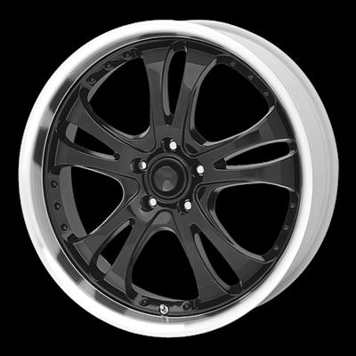 Литой American Racing AR393 R20/8.5 PCD5*114,3 ET35 DIA72.62 Black/Machined