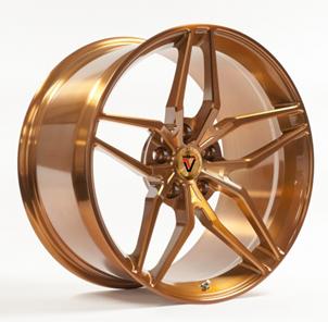 Кованый Vissol F-928 R19/8.5 PCD5*120 ET30 DIA74.1 Gloss gold