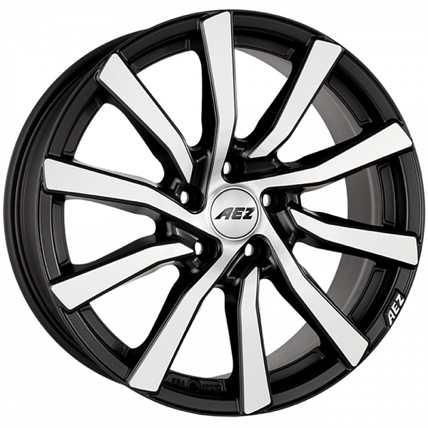 Литой AEZ Reef Suv R17/7.5 PCD5*120 ET34 DIA72.6 Black front polished