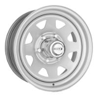 Штамп Dotz Dakar R16/7 PCD6*139,7 ET36 DIA106 Silver