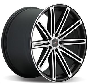 Кованый Vissol F-004 R20/10.5 PCD5*114,3 ET25 DIA73.1 Matte graphite machined