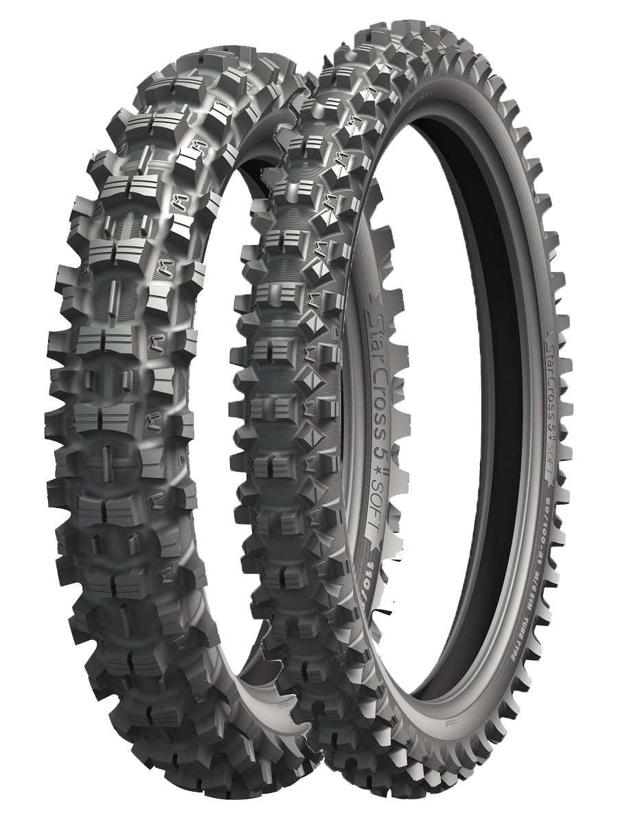 мотошины Michelin Starcross 5 Soft 110/100 R18 64M