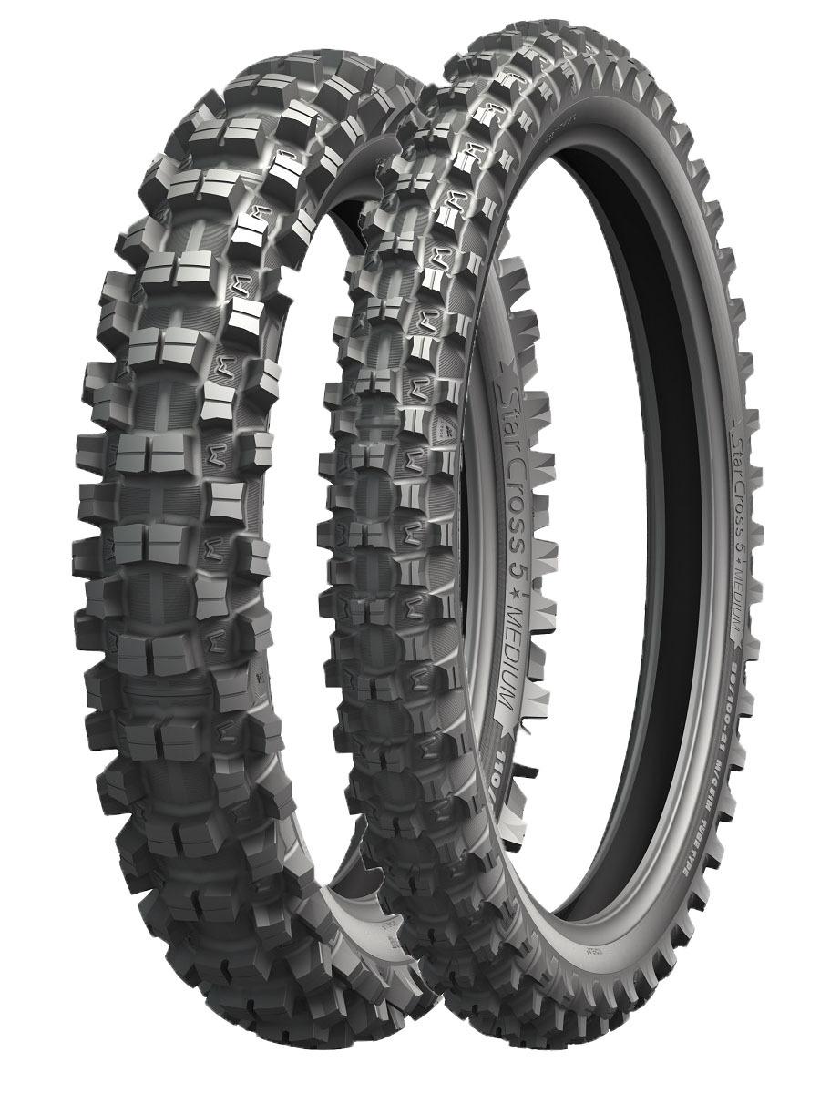 мотошины Michelin Starcross 5 Medium 100/100 R18 59M