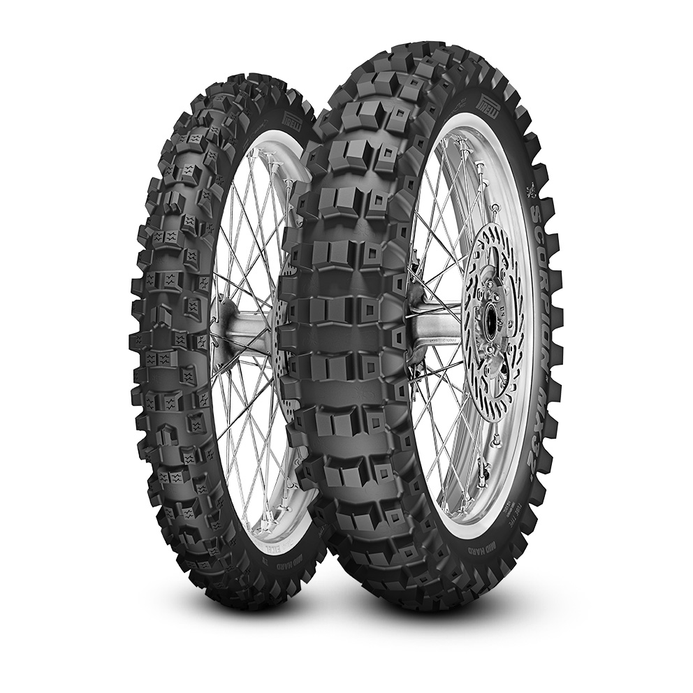 мотошины Pirelli Scorpion MX32 Mid Hard 110/90 R19 62M