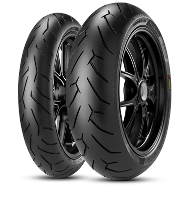 мотошины Pirelli Diablo Rosso II 200/50 R17 75W