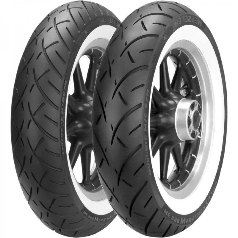 мотошины Metzeler ME 888 Marathon Ultra Whitewall 180/65 R16 81H