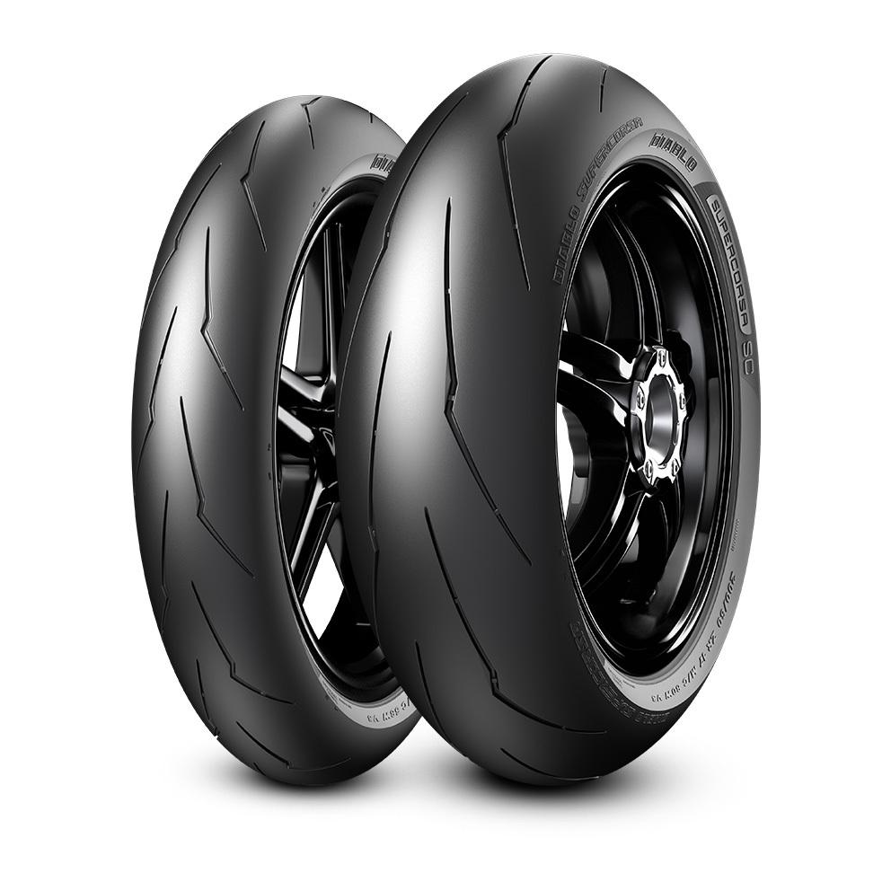 мотошины Pirelli Diablo Supercorsa SC2 V3 200/55 R17 78W