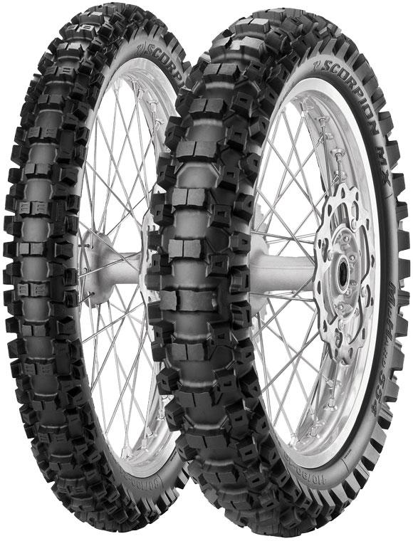 мотошины Pirelli Scorpion MX Mid Hard 554 120/80 R19 63M