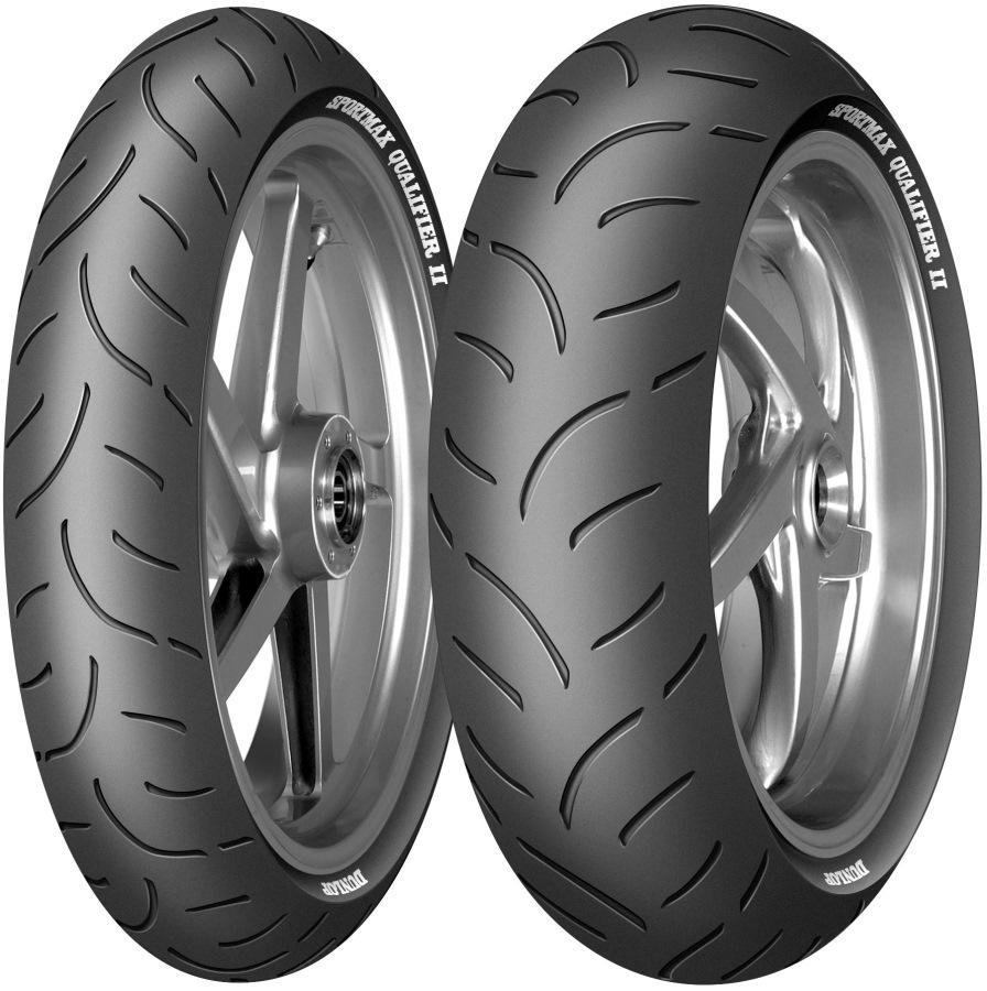мотошины Dunlop Sportmax Qualifier II 180/55 R17 73W