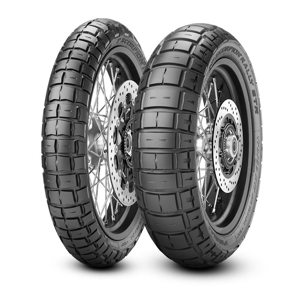 мотошины Pirelli Scorpion Rally STR 130/80 R17 65V
